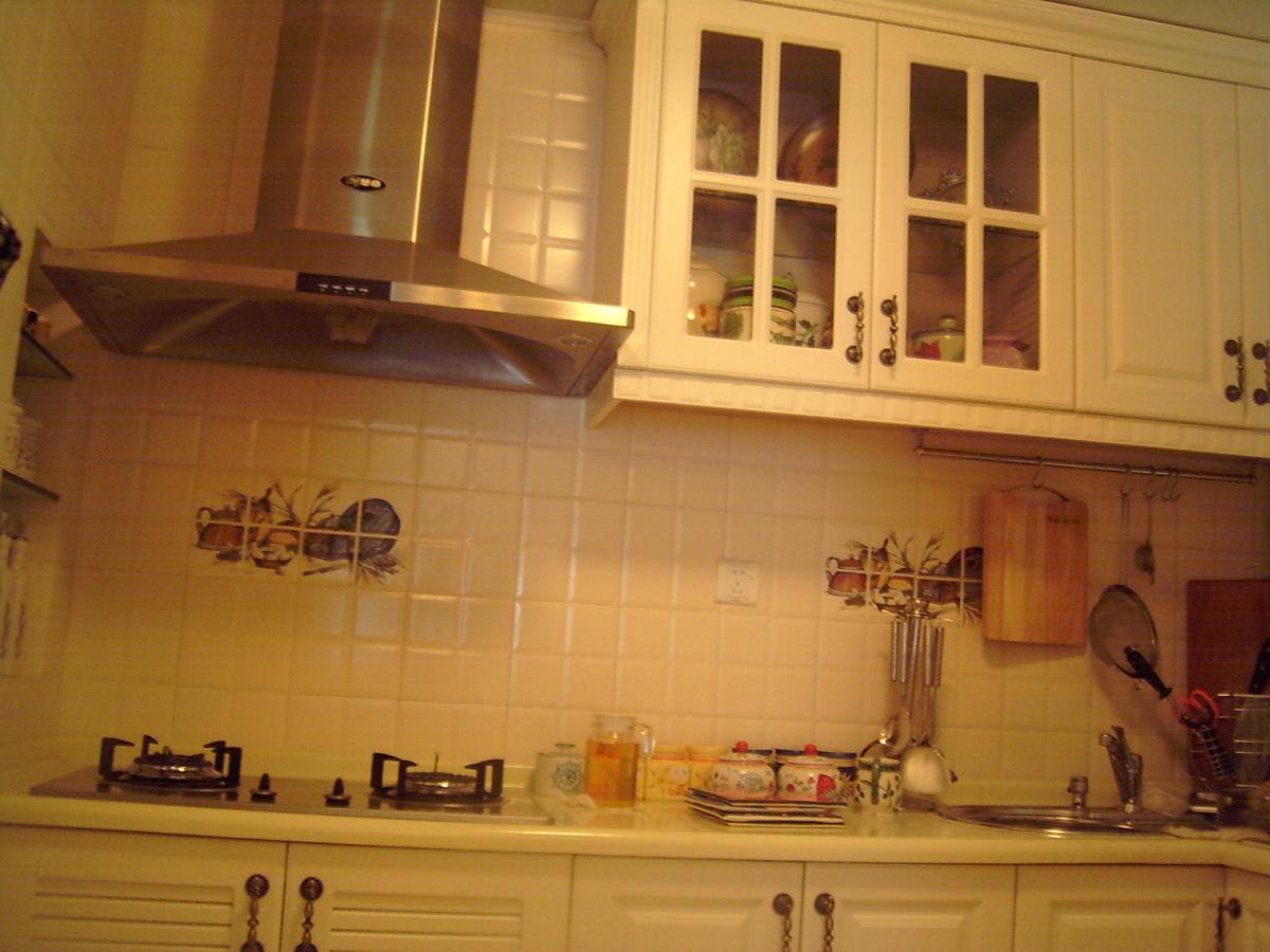 欧式厨房地砖效果图大全