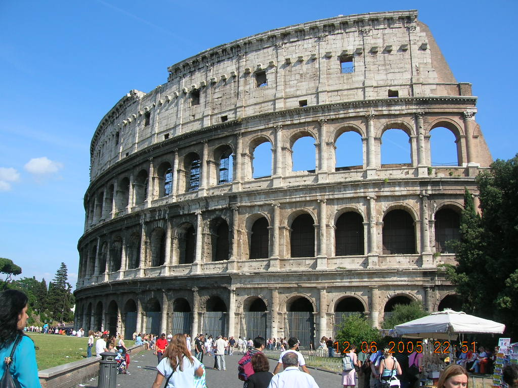 古斗兽场 旅欧之感 四 保护古建筑的典范 罗马城
