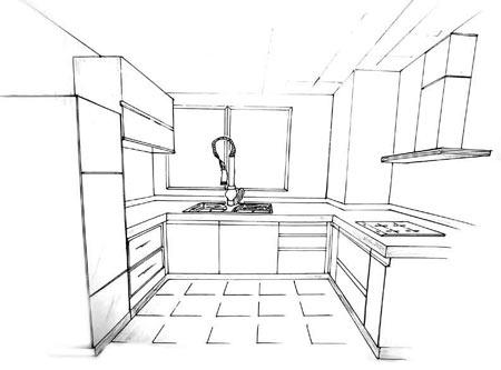 冰箱工业设计手绘