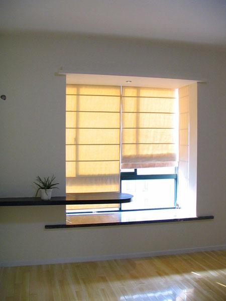 线条收口,         4 胡桃木窗套 m 1/50元-65元 使用材料为木工板