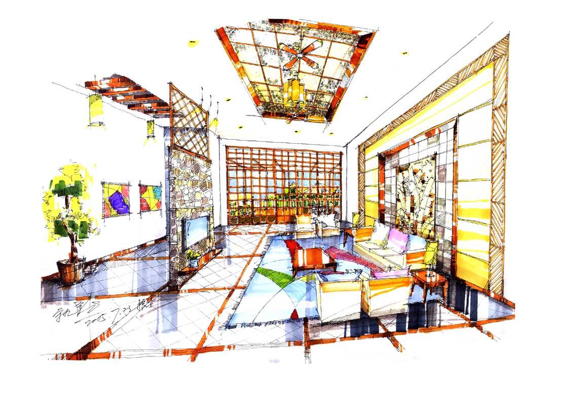 装修论坛 设计师沙龙  > 别墅手绘   板凳 只看此人 引用 点赞 2005-1