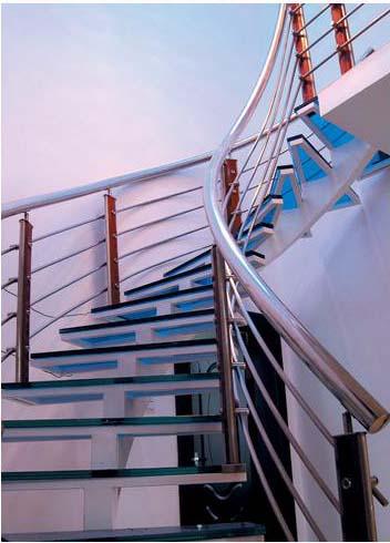 错层住宅和公共场所的楼梯设计