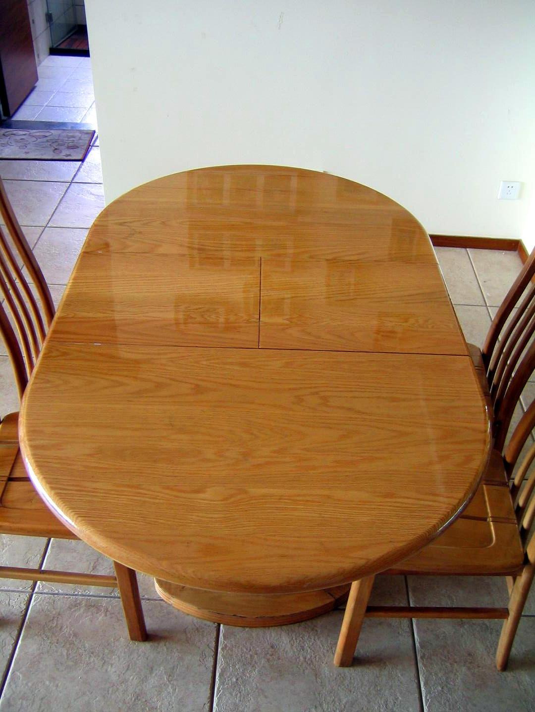 转:可折叠实木餐桌椅一套