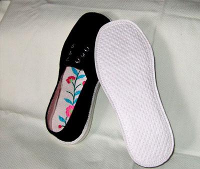 手工布鞋.及绣花鞋垫