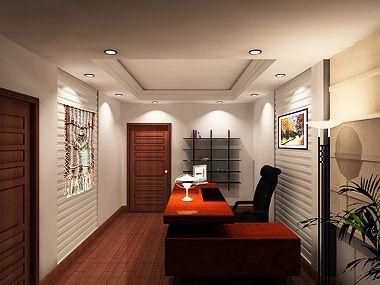 客厅木线条天花