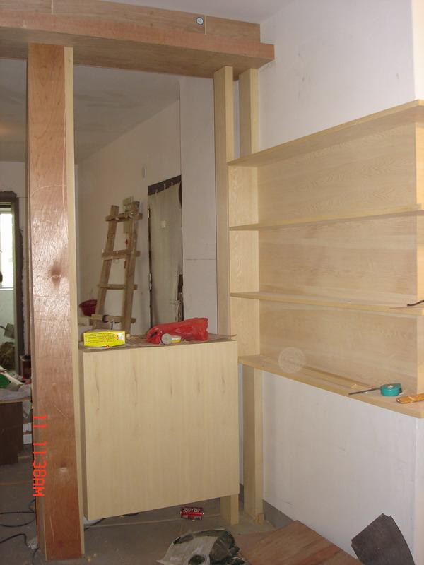 用木板做鞋柜方法图片