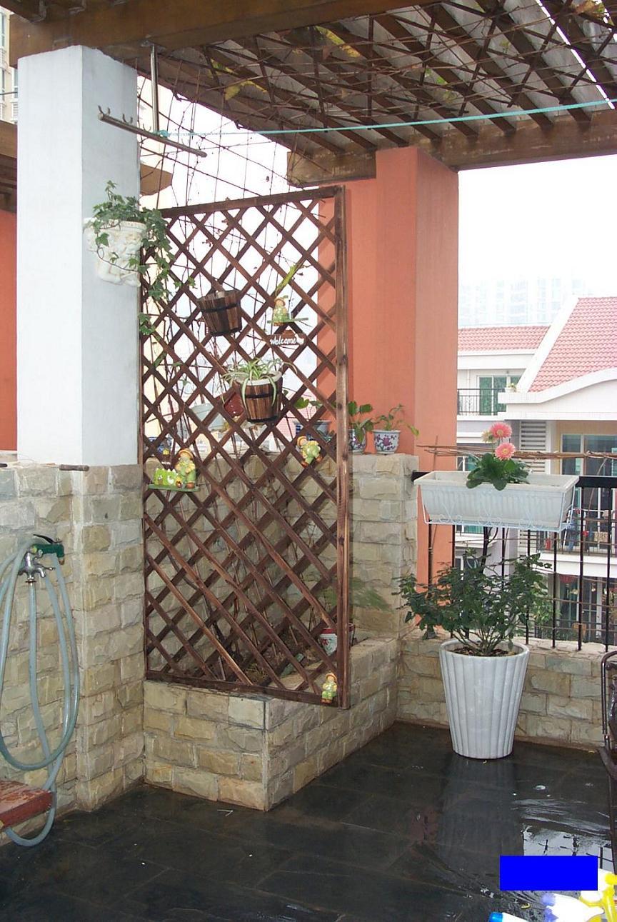 阳台篱笆设计图