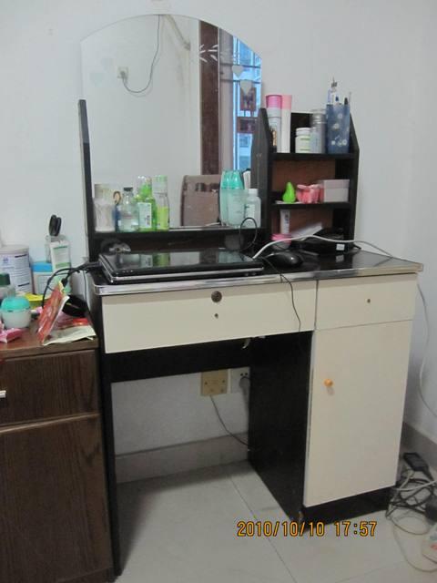 [转让]转梳妆台/电脑桌/折叠床(南山西丽)