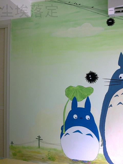 个人手绘墙