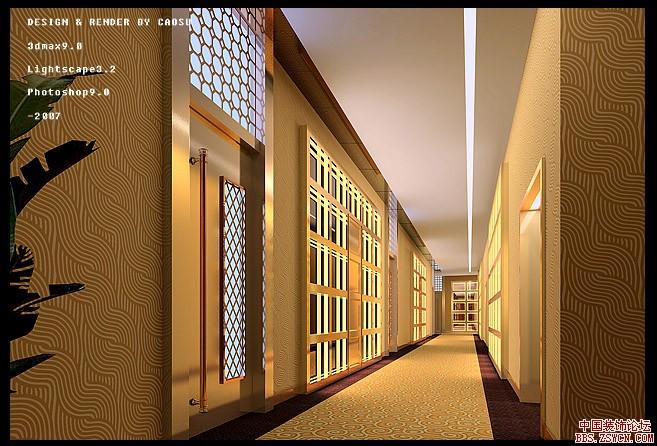 室内设计效果图 过廊 装饰图集 沈阳装修 沈阳装饰