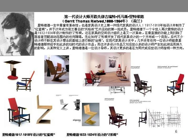 手绘椅子设计三视图_图片素材库;