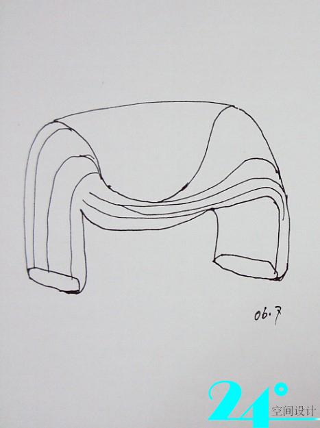 手绘椅子-------------------从建筑大师设计椅子说