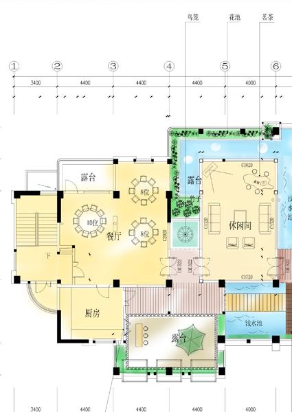 屋顶花园加菜园设计图展示