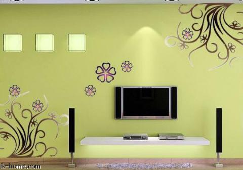个性家居手绘墙画——江南风手绘