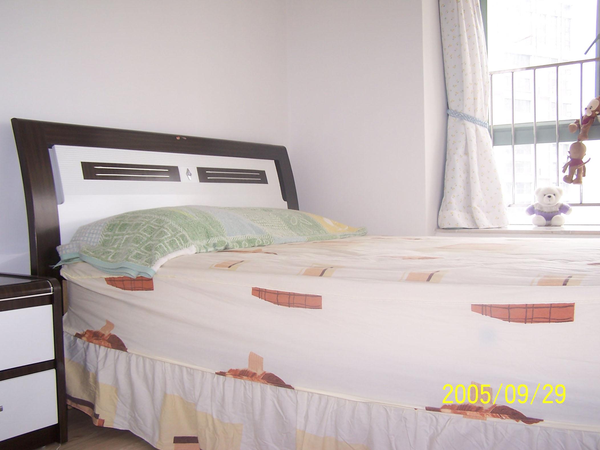 背景墙 床 房间 家居 家具 设计 卧室 卧室装修 现代 装修 2104_1578
