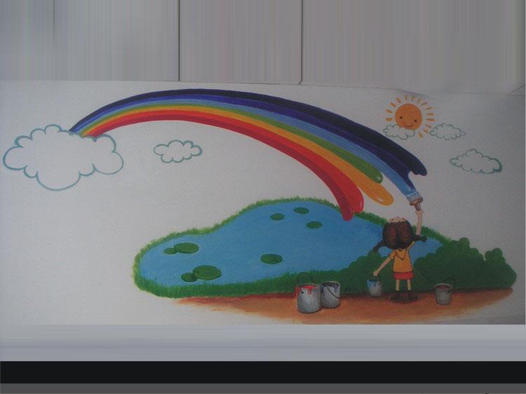 创意手绘墙-----让您的家更漂亮(年前画的一些墙绘)
