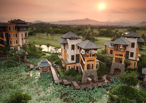 棕榈岛高尔夫别墅酒店