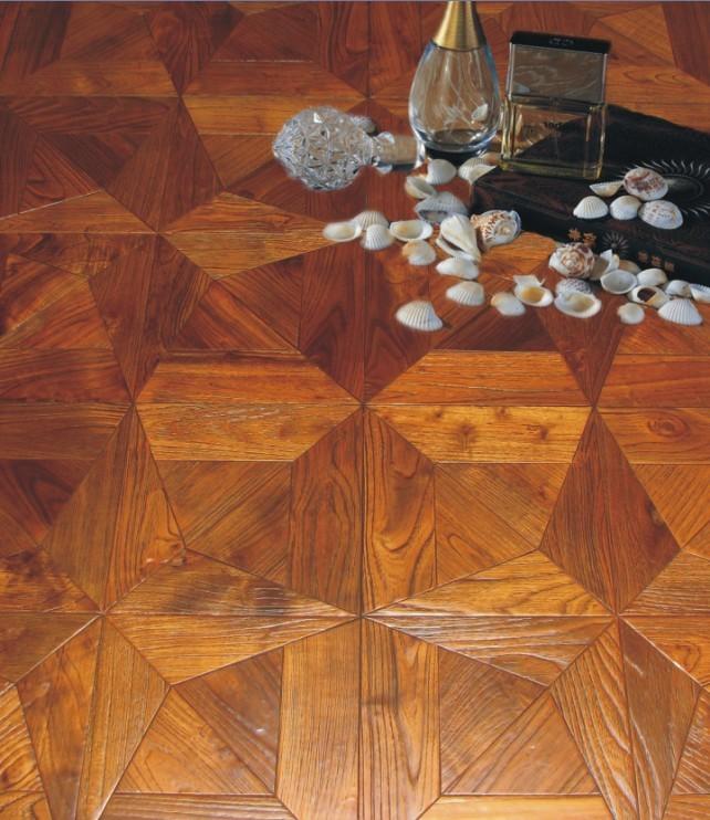 卓成地板艺术拼花实木地板
