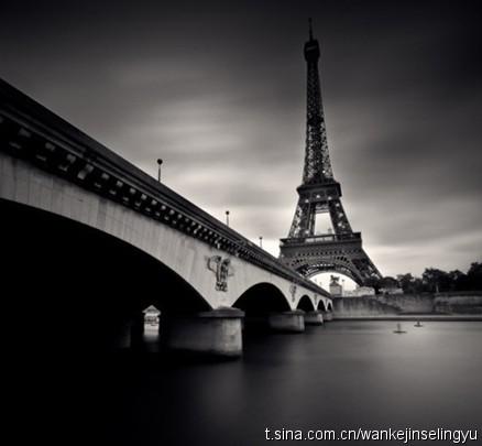 > 【黑白巴黎】让人感觉与众不同的巴黎的黑白照片图片