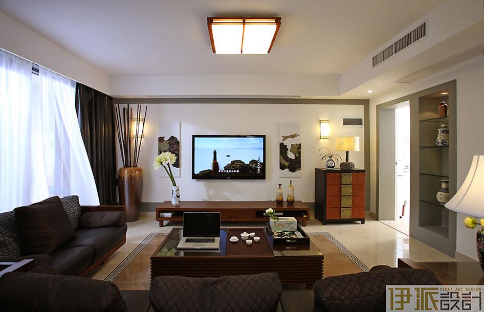 简约中式风格 益田村 现代中式1 四居室 130平米 装修设计