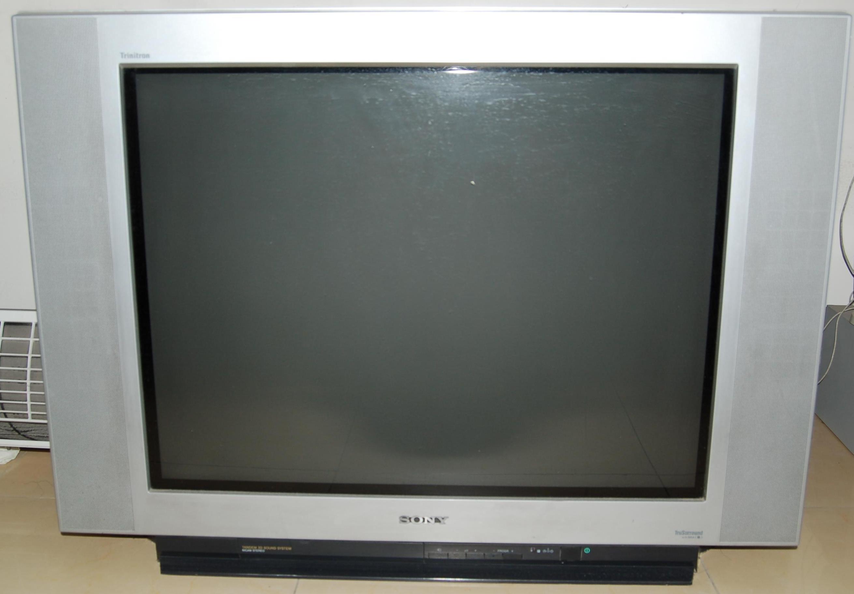 转让34寸sony的crt电视机