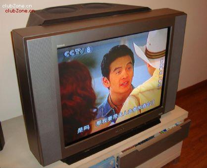 装34寸纯平电视机