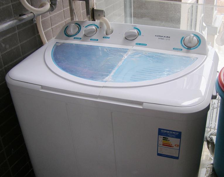[转让]转让半自动洗衣机