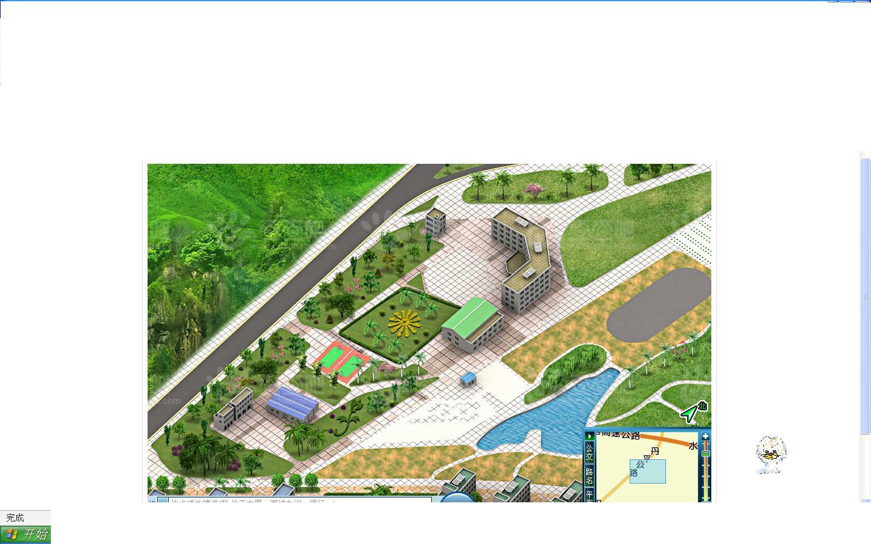 山地农场设计平面图