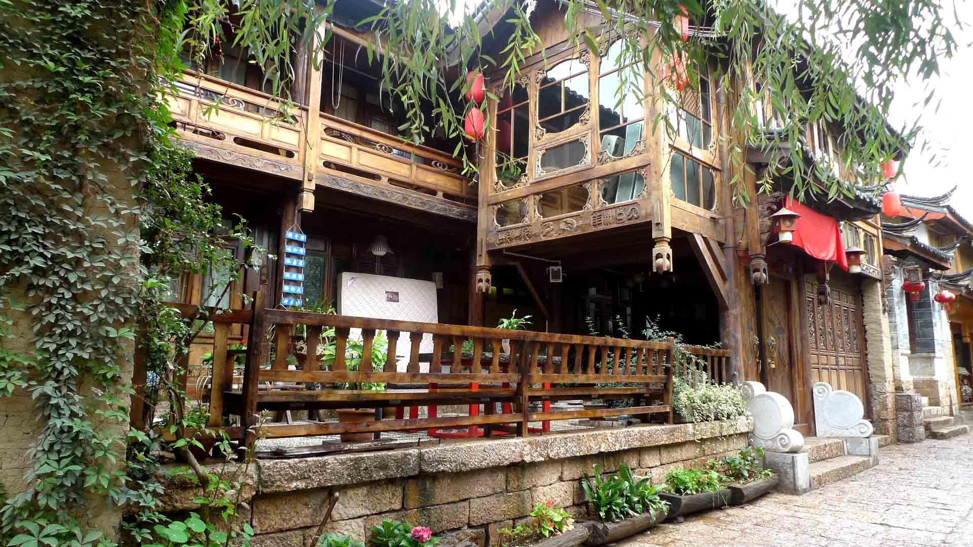 抗震的木结构建筑