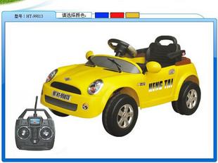 儿童电动摇控车转让图片