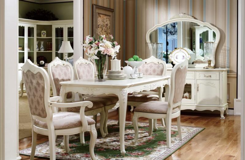 酒窖  欧式白色弧形置物桌