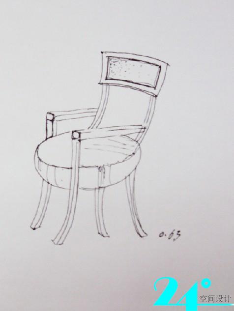 手绘椅子----