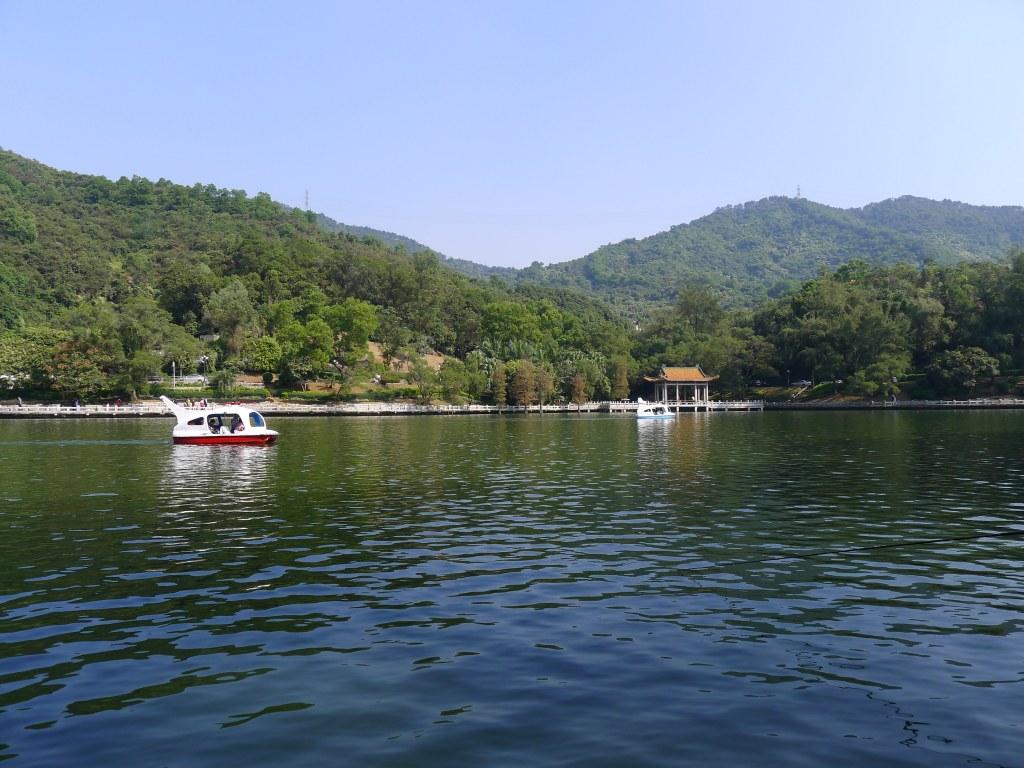高州银湖风景区