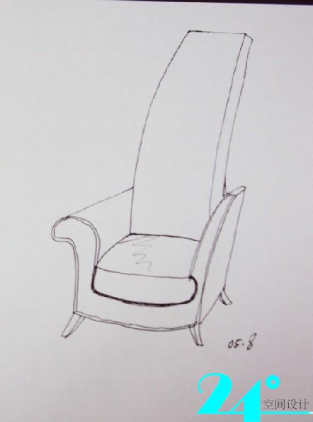 手绘椅子-------------------从建筑大师设计椅子说起