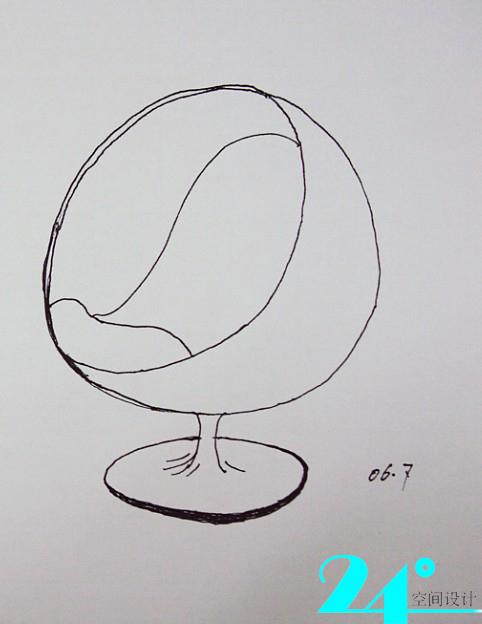 创意椅子设计说明,创意椅子手稿,创意珠宝设计手稿,创意插画