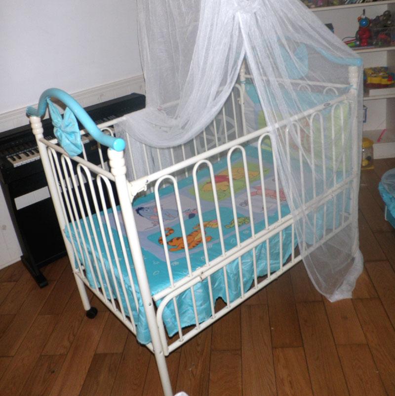 好孩子婴儿床 配床围,蚊帐