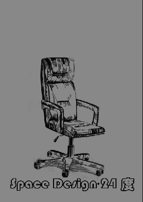 手绘椅子设计三视图展示