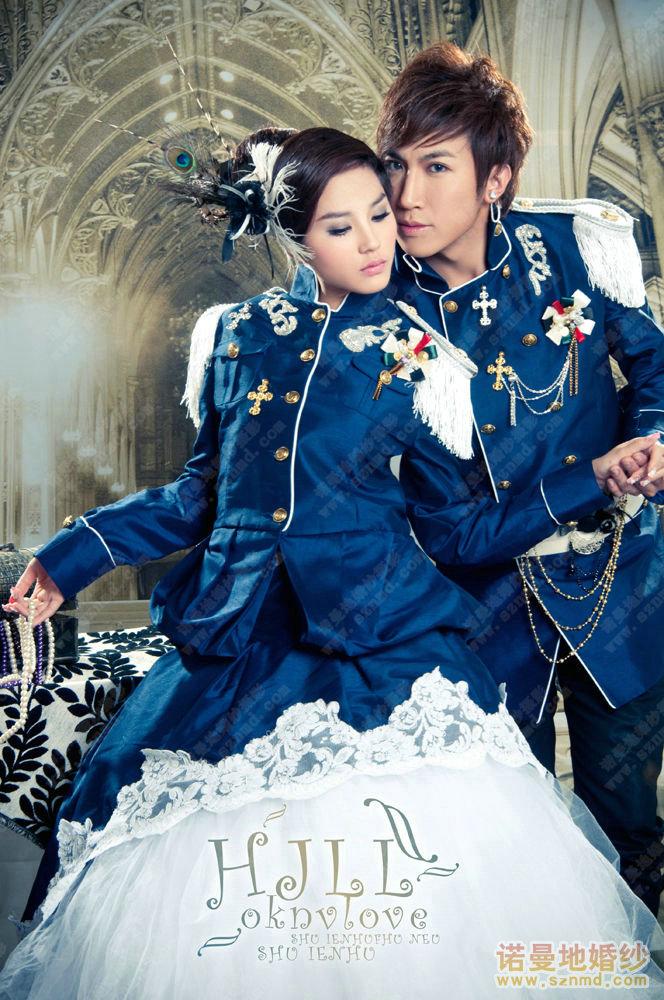 深圳婚纱摄影团购风暴隆重推出诺曼地欧式华丽婚纱照
