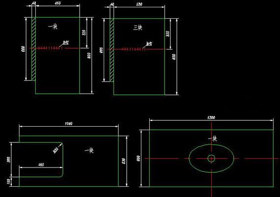 大理石橱柜内部结构图
