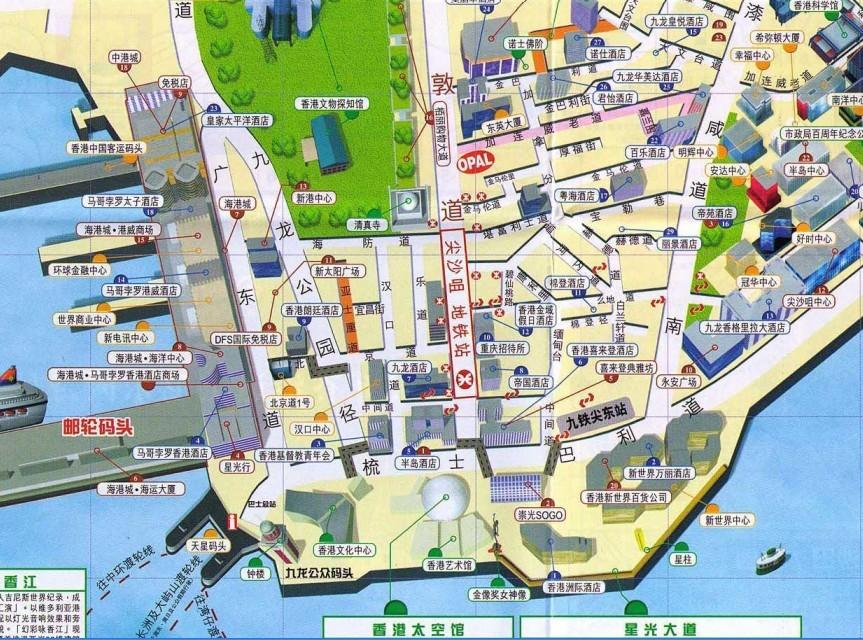 南江县红塔公园 地图