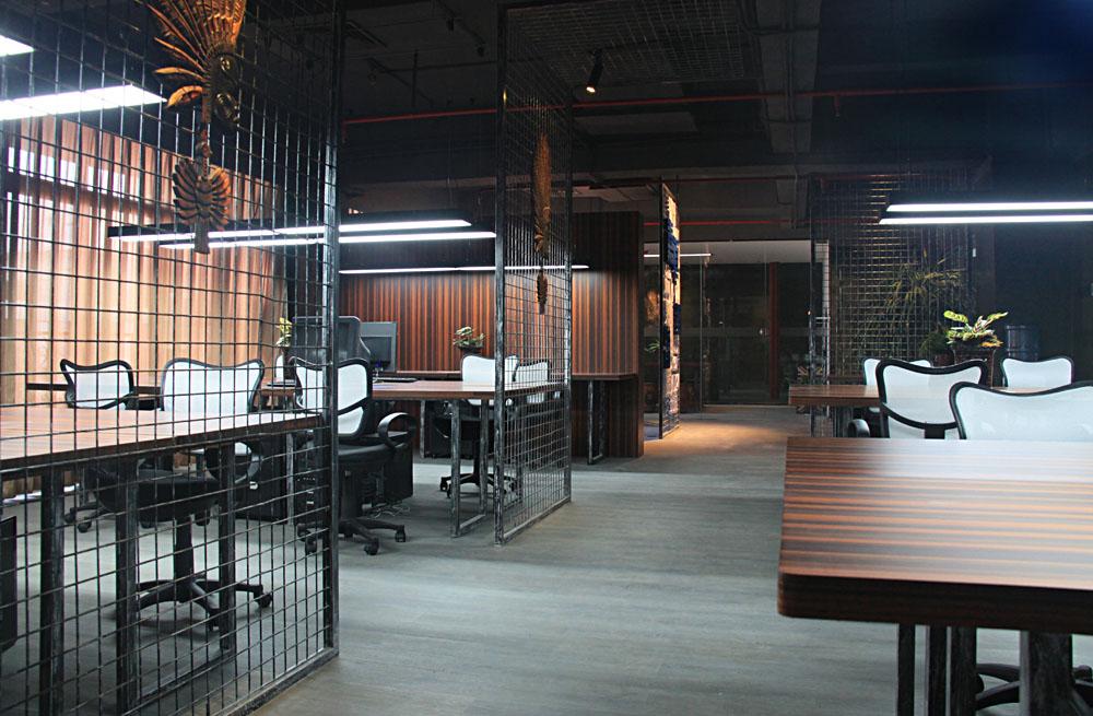 走廊 深圳市嘉道设计公司办公室实景效果图实景照片