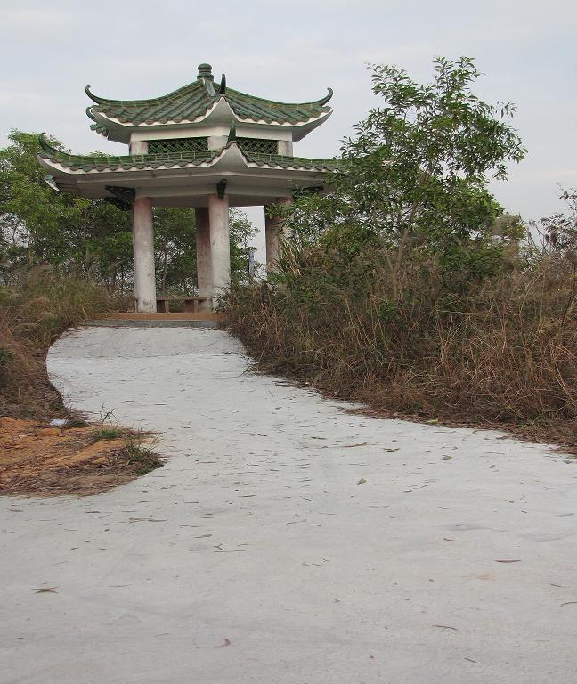 深圳的长城 求水山公园图片