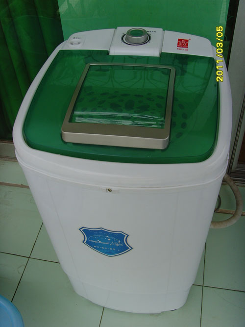 超低价转让海尔冰箱,送脱水机.