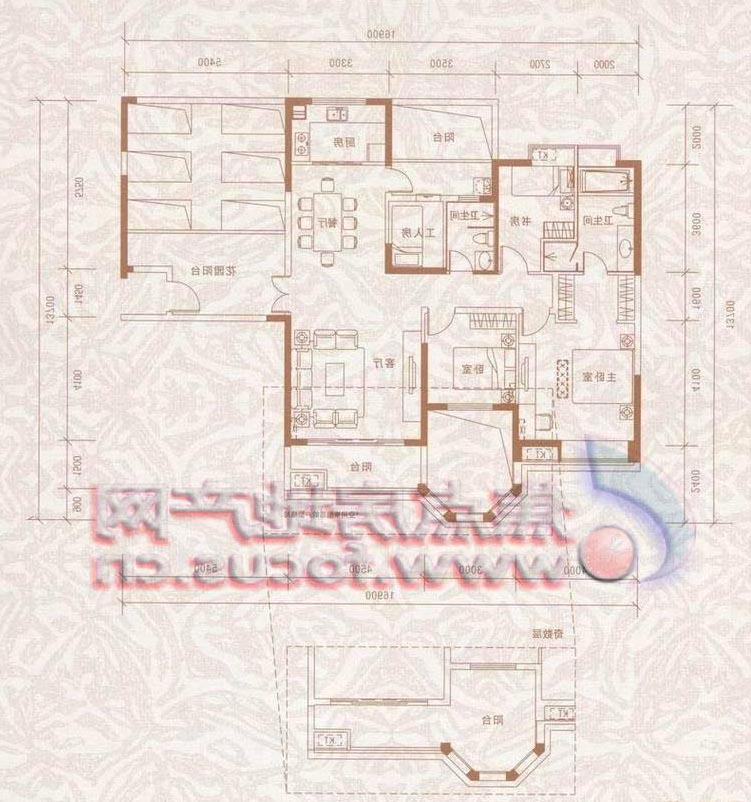 设计图,全套施工 我求一个100平米的房子平面设计图,3室一厅