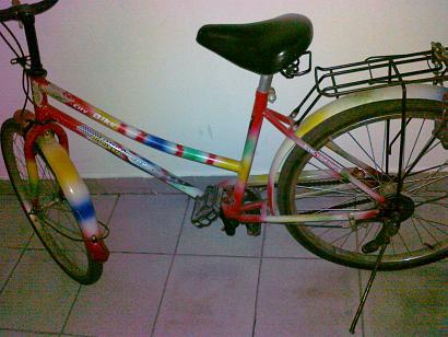 奔驰转让 自行车
