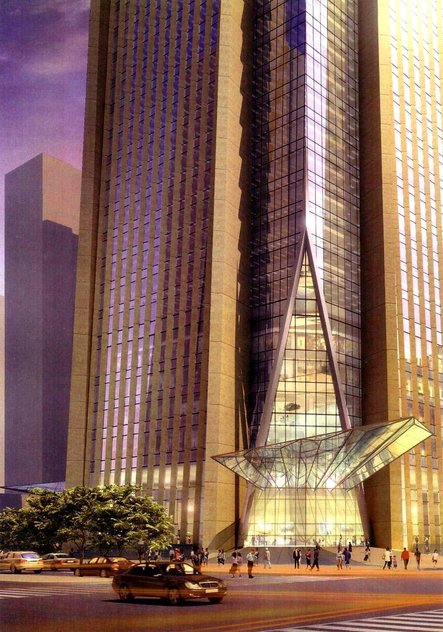 平安国际金融中心设计师是广州东塔的设计单位
