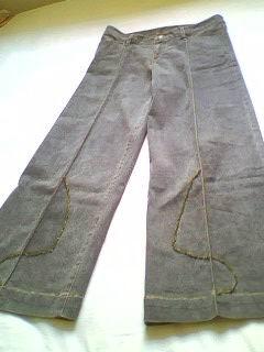 尚的低腰长裤 26-27码 裤子多了 穿不上 质量好好的,手工订珠,5米