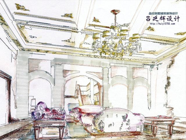 古典欧式别墅外观及内部结构改建项目(古典欧式