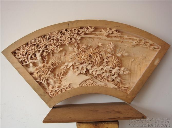 使木雕工艺品更具 有历史性