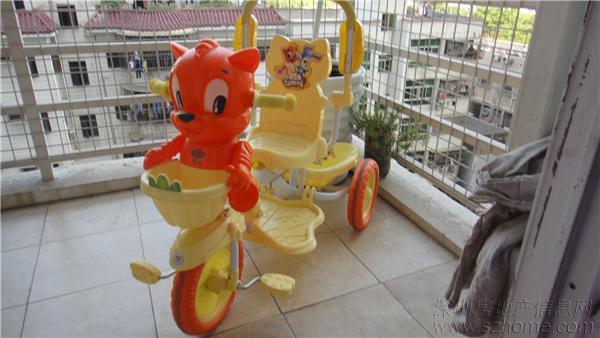 儿童雅士利三轮车脚踏车安装图